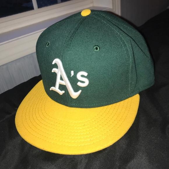 Men's New Era 59Fifty Oakland Athletics hat 00fa40af4ed